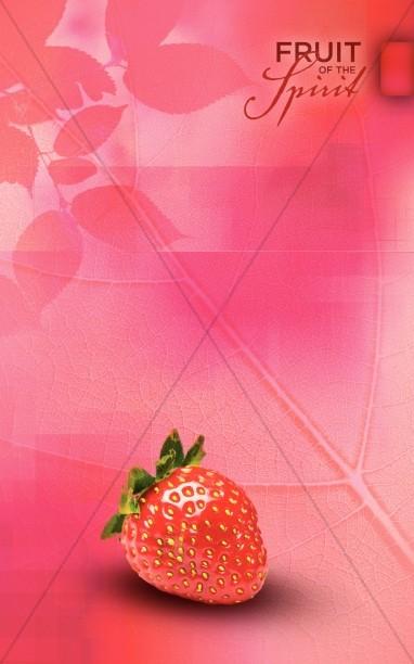 Love Fruit Of The Spirit Bulletin Cover