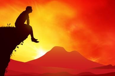 Sunset Cliffs Worship Video Splash Screen