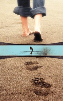 Footprints In the Sand Bulletin Cover