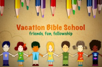 Pencils and Kids VBS Video Splash Screen
