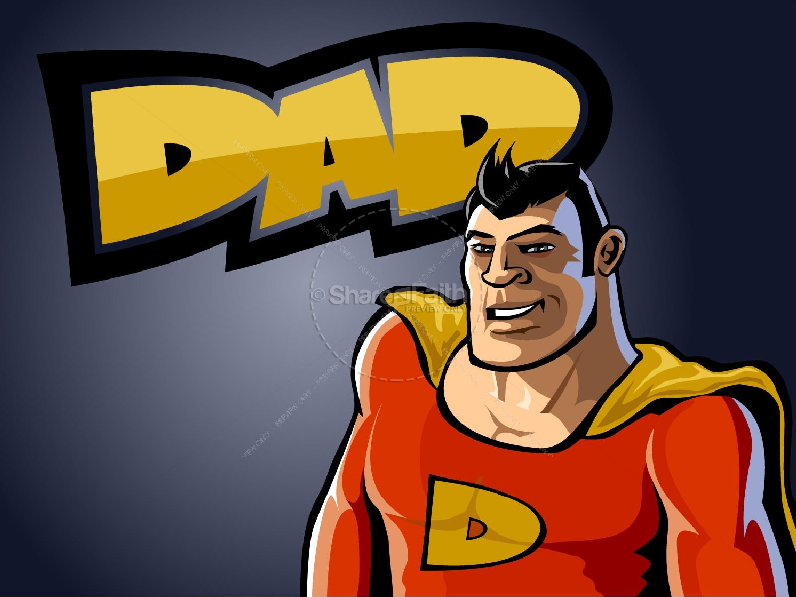 Super Dad Powerpoint Template
