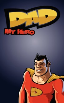 Super Dad Father's Day Bulletin Cover