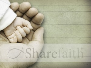 A Father's Hand Worship Background