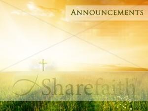 how to make church announcements