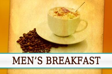 Men's Breakfast Video Splash Screen Loop
