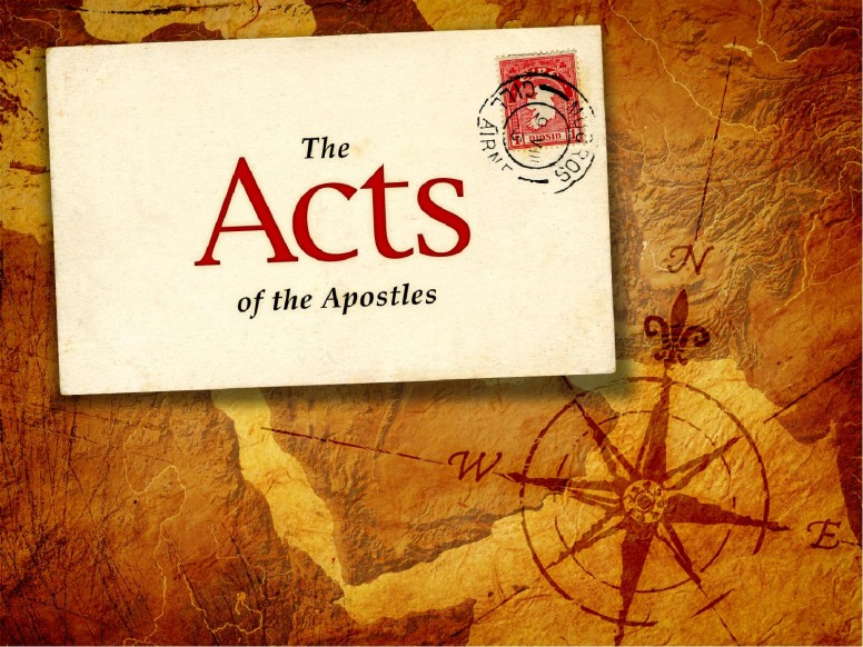 Acts Of The Apostles PowerPoint Template