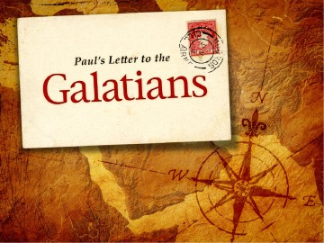 Letter To The Galatians powerPoint Template