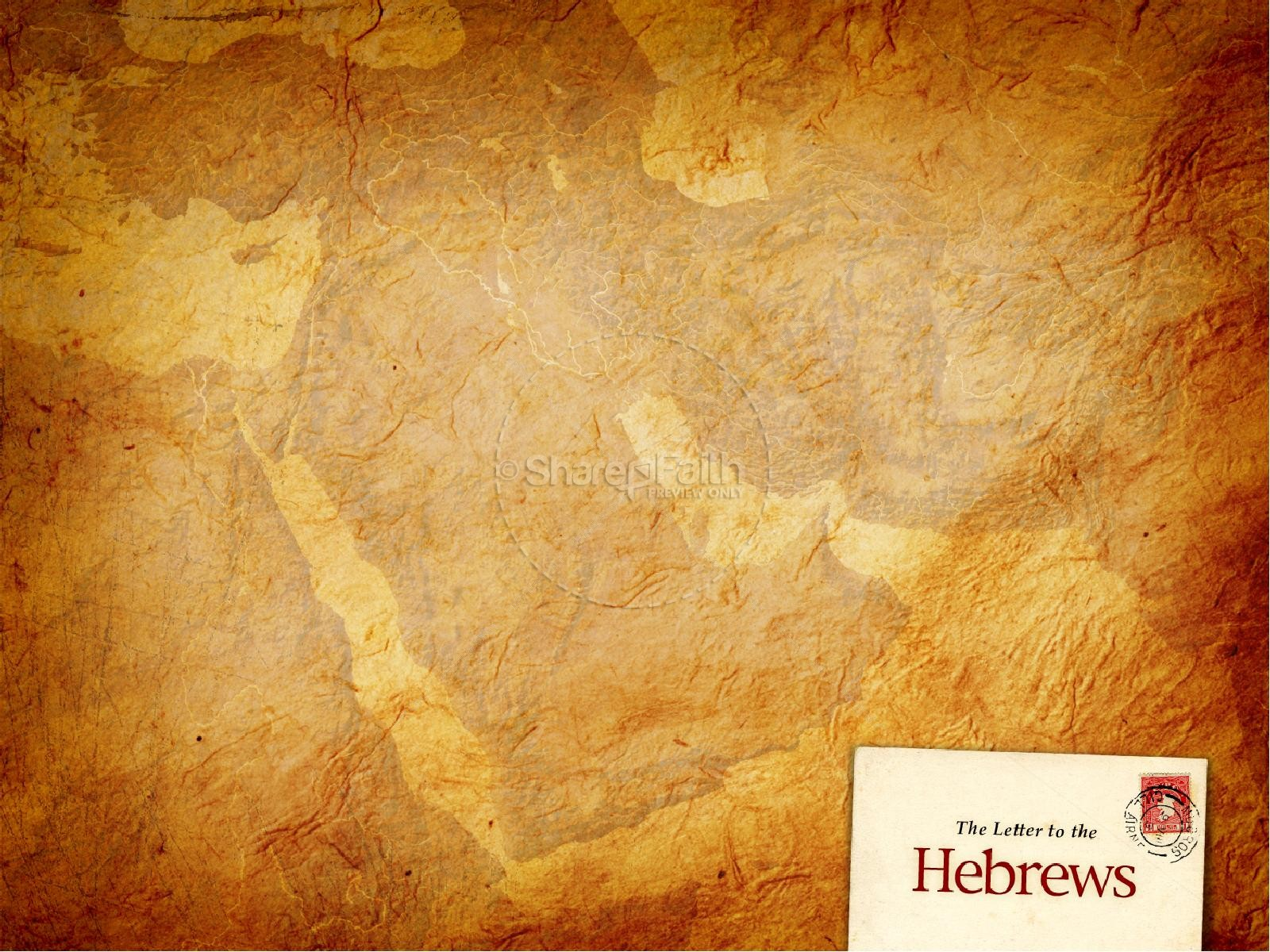 book of hebrews powerpoint template new testament books