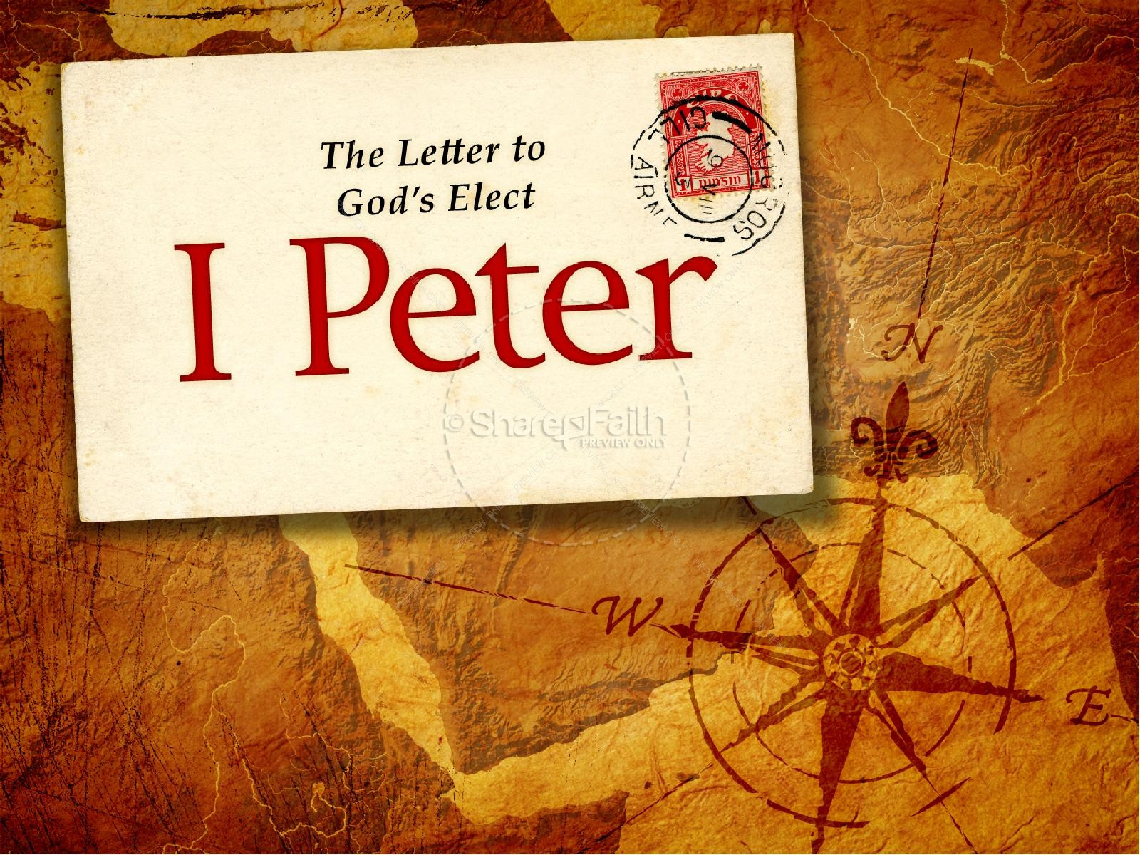 The Book Of 1 Peter PowerPoint Template