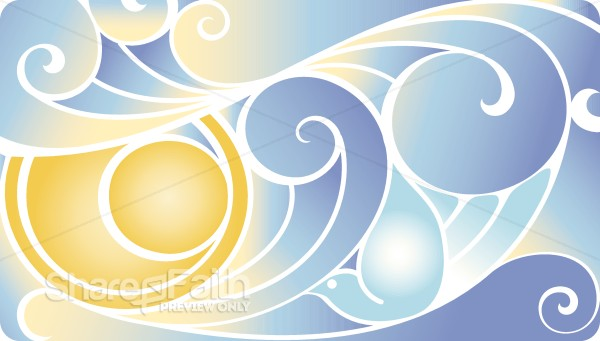 The Earth and Sky Color Clipart