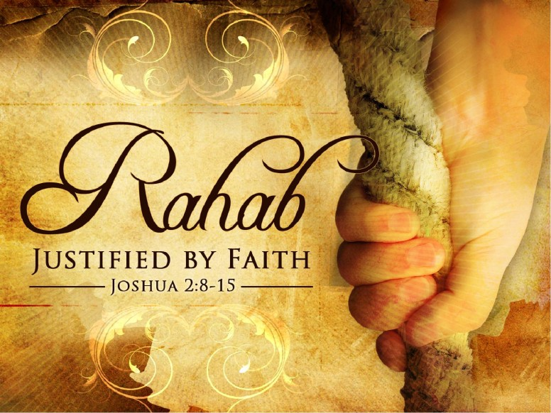 Rahab Justified By Faith PowerPoint Template