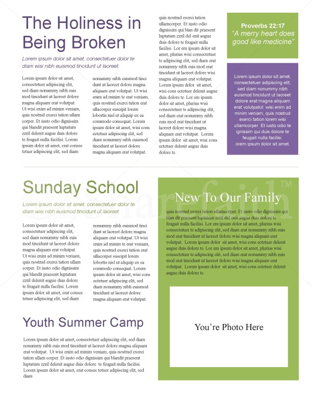 Butterfly Church Newsletter