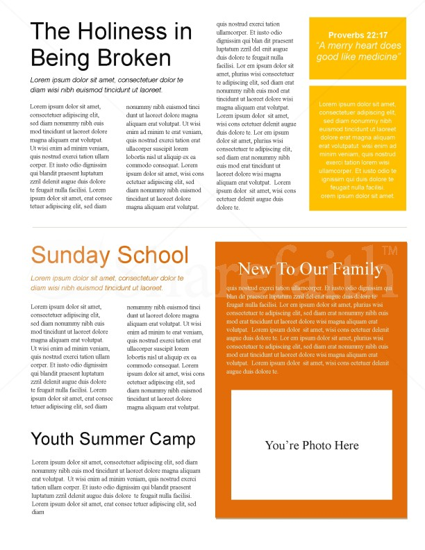 Arms Of Worship Church Newsletter | page 2