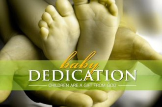 Baby Dedication Christian Video Loop