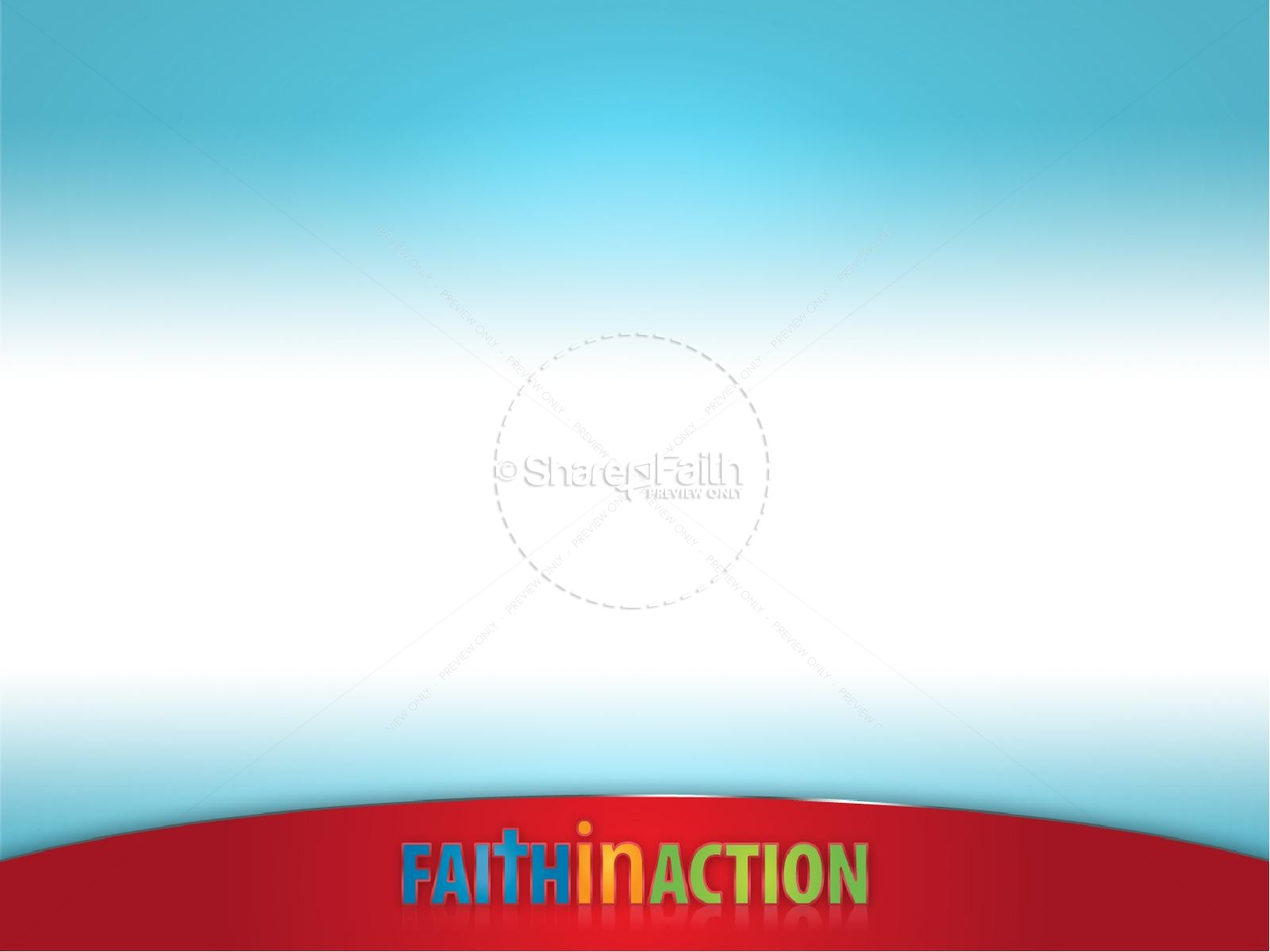 Faith In Action PowerPoint Sermon Template