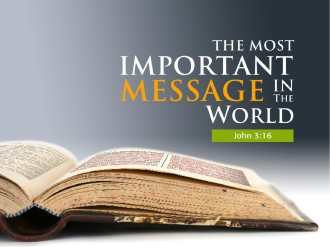 The Message Of The Gospel Church PowerPoint