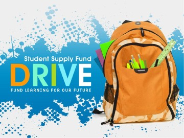 School Supply Fund Drive Church PowerPoint