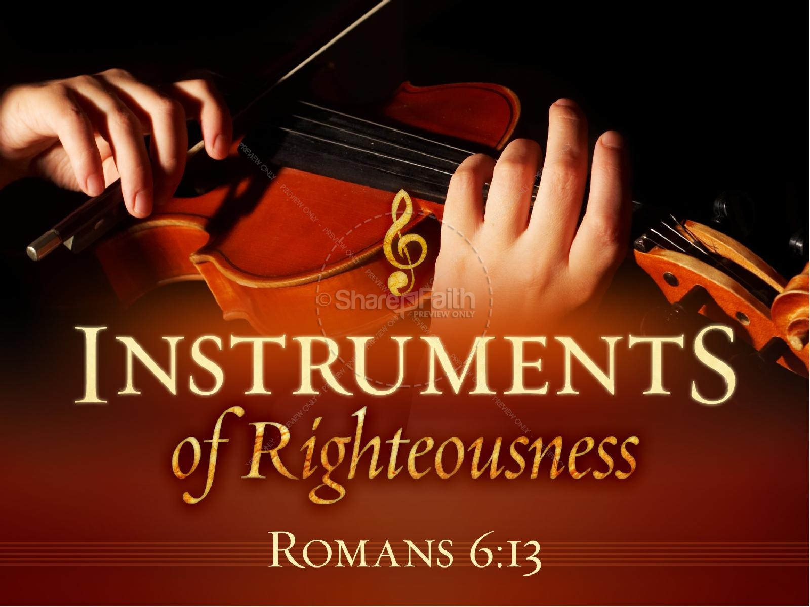 Instruments of Righteousness Church PowerPoint