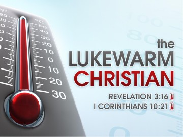 The Lukewarm Christian Sermon PowerPoint Template