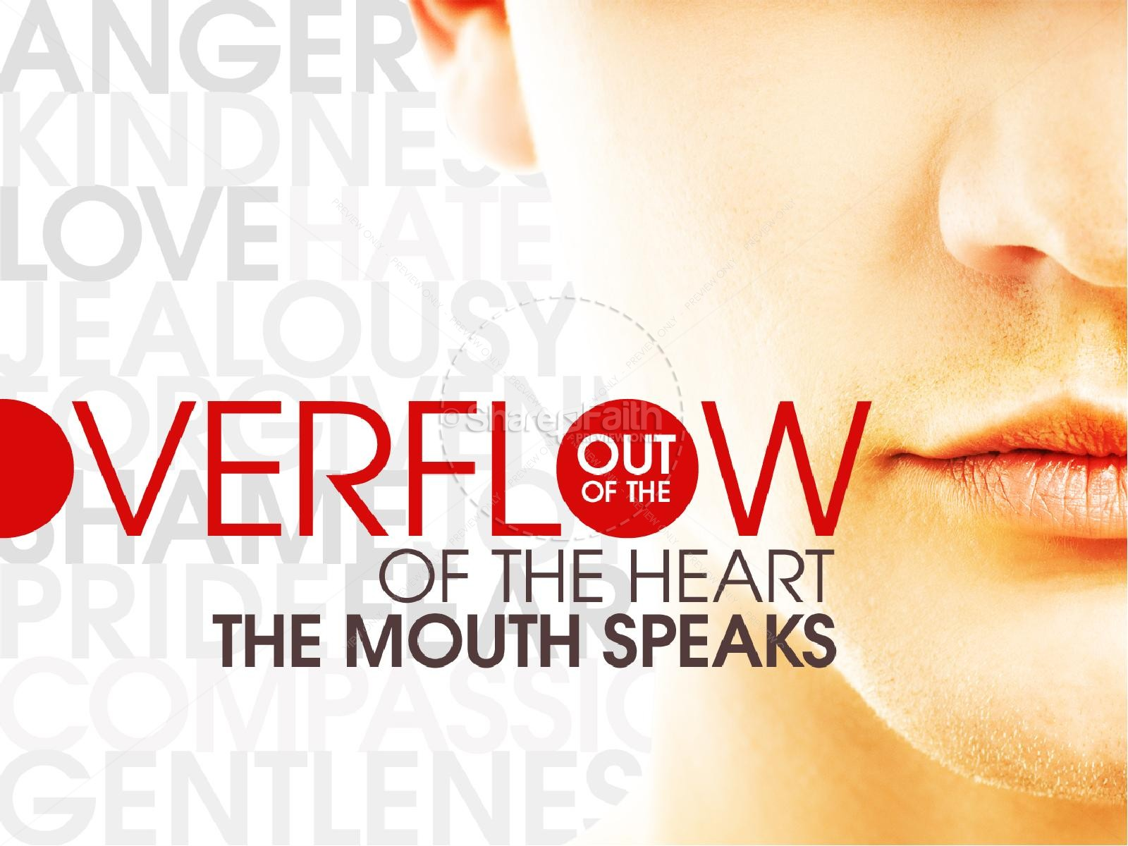 Overflow of the Heart Christian PowerPoint