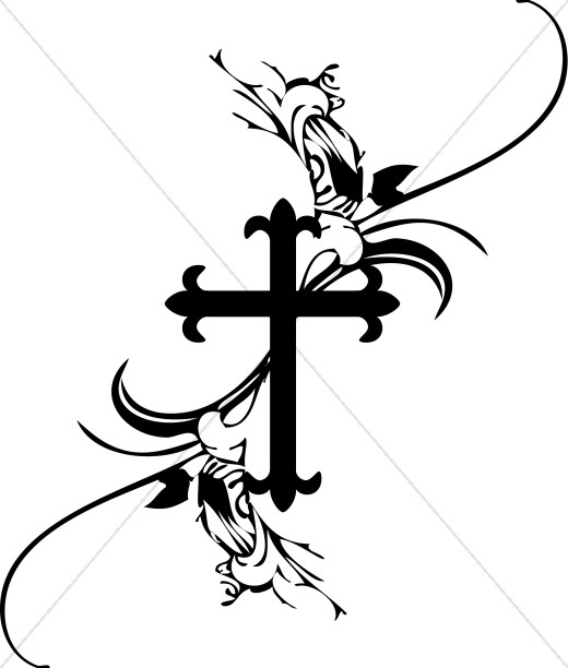 French Cross Clipart
