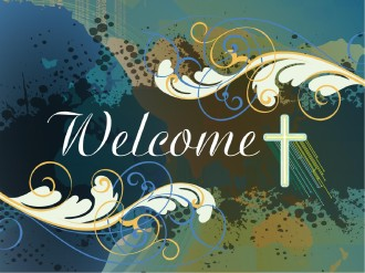 Welcome Cross PowerPoint