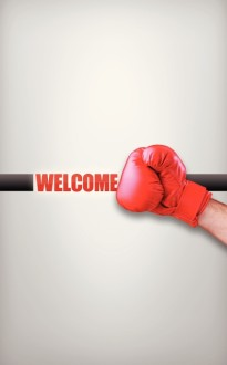 Good Fight Welcome Bulletin Cover