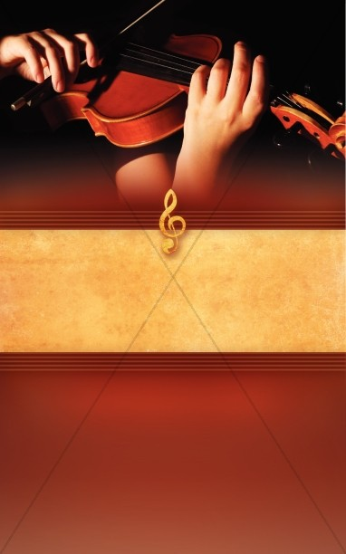 Violin Bulletin Cover