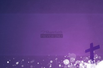 Purple Cross Church Video Background