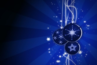 Christmas Ornaments Christian Video Background