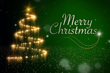 Trail Of Lights Christmas Video Loop