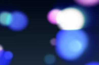 Floating Lights Christmas Video Loop