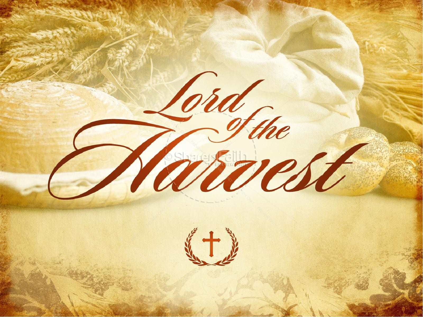 Lord Of The Harvest Church PowerPoint