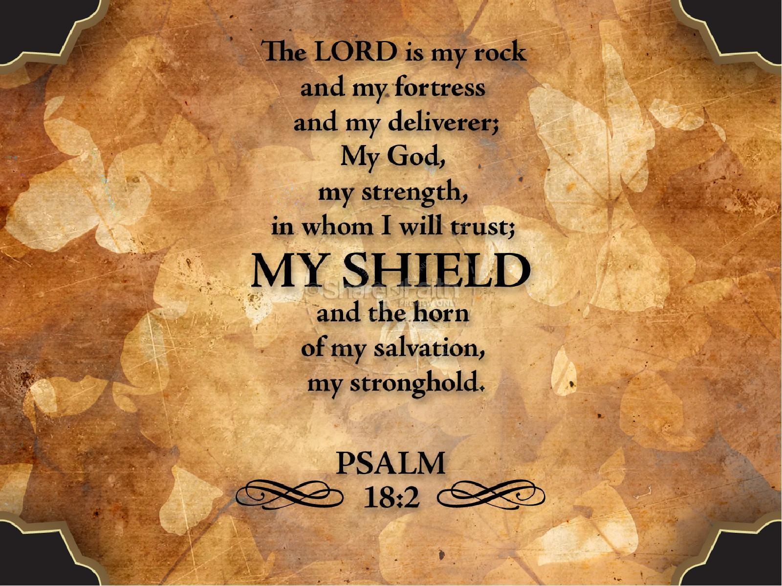 My Shield Sermon Slideshow Fall
