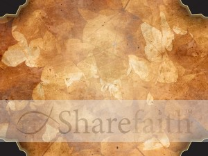 Autumn Collage Worship Background