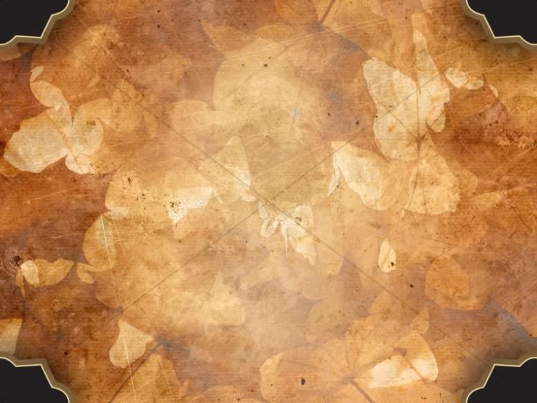 Autumn Collage Worship Background