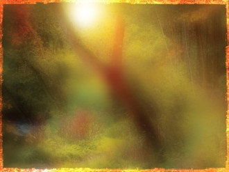 Colors Of Fall Worship Background Design