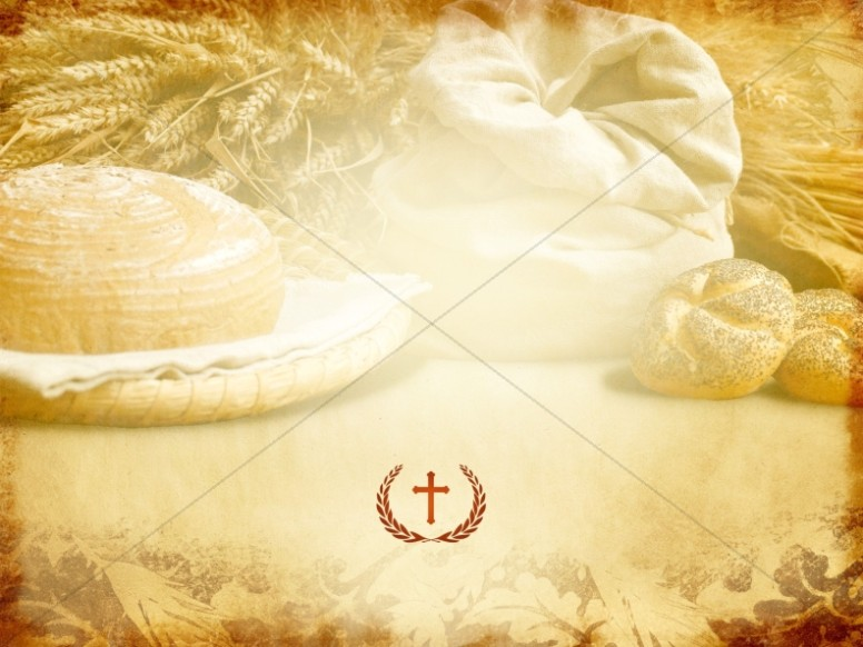 Wheat and Loaves Worship Background