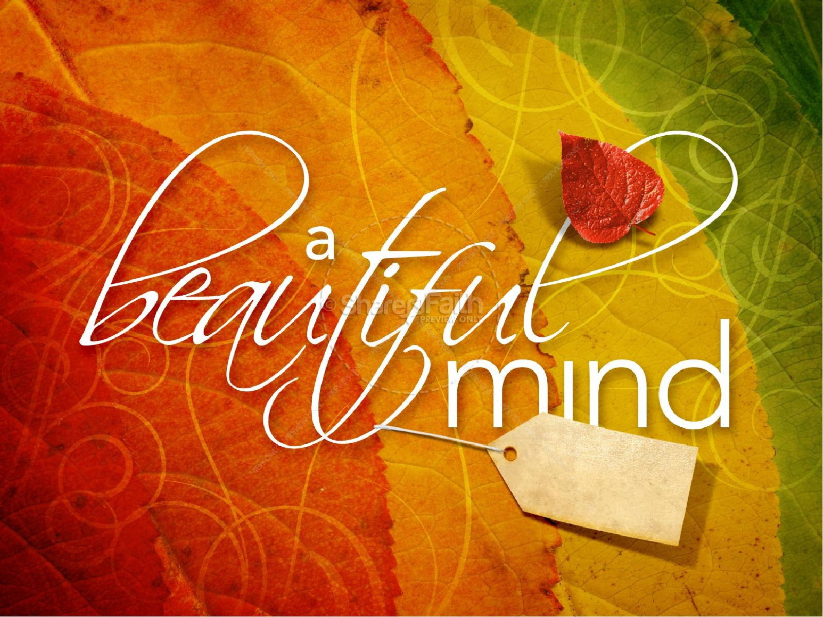 Beautiful Mind PowerPoint Presentation