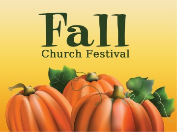 Fall Church Festival Church PowerPoint