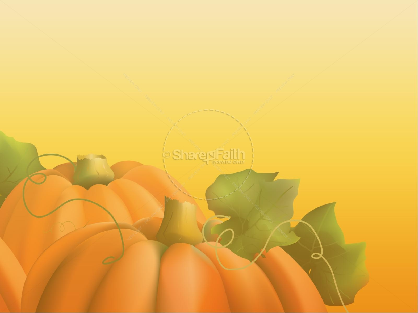 Fall Church Festival Church PowerPoint | Fall Thanksgiving PowerPoints