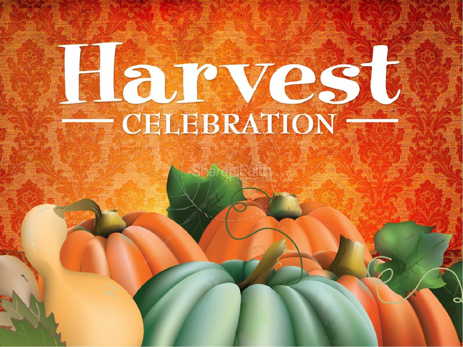 Harvest Celebration Christian PowerPoint