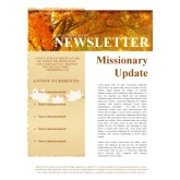 Fall Missionary Update Newsletter