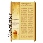 Two Autumn Leaves Church Newsletter