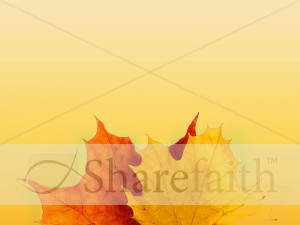 Colors Of Fall Christian Background