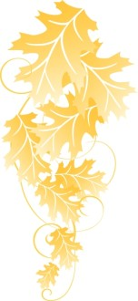 Big Leaves Christian Clipart
