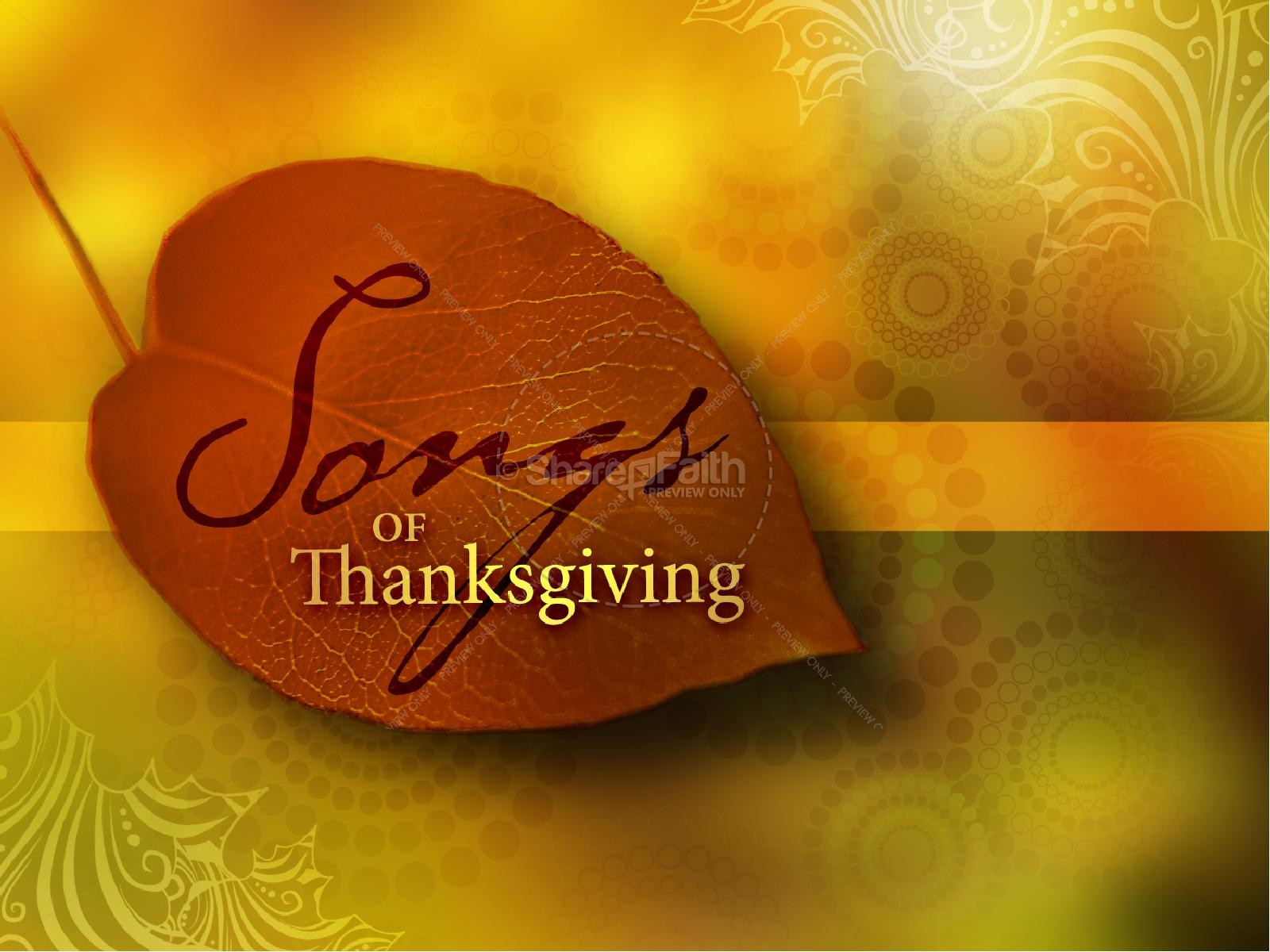 Thanksgiving Sermon PowerPoint
