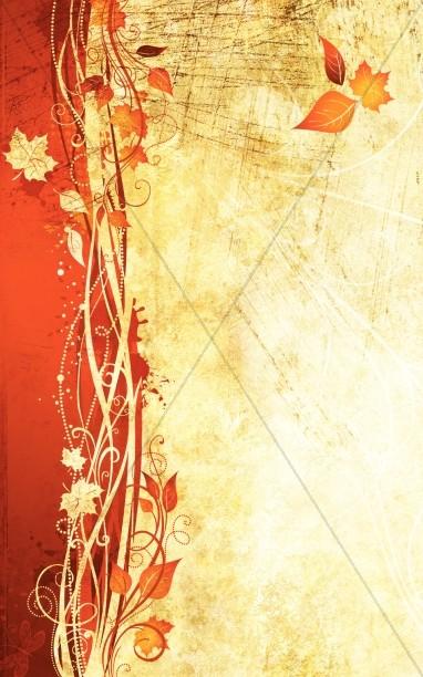 autumn vines bulletin cover