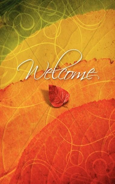 Fall Colors Bulletin Cover