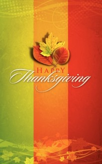 Happy Thanksgiving Bulletin Cover